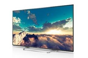 Panasonic Deutschland: Panasonic CXW754 und CXW704: Großartiges TV-Vergnügen in 2D und 3D