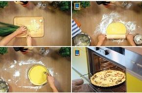 Unternehmensgruppe ALDI SÜD: Koch- und Backvideos bei ALDI SÜD: Rezepte noch einfacher ausprobieren