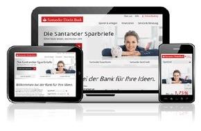 Santander Consumer Bank AG: Neue Santander Direkt Bank für den deutschen Online Markt (FOTO)