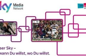 Sky Deutschland: Qualitätscontent auf allen Bildschirmen: Sky präsentiert Multiscreen-Welt auf der dmexco