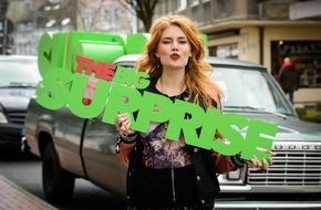 """ProSieben Television GmbH: Weil's so furchtbar schön war: Palina Rojinski beschert nichtsahnenden Kandidaten wieder """"The Big Surprise"""" auf ProSieben"""