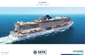 MSC Kreuzfahrten: Erstanlauf der MSC Orchestra in Sydney
