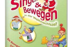 Menschenkinder Verlag: Weihnachtslieder, die Kinder bewegen / Neue Sing- und Tanz-DVD mit Weihnachtsliedern von Detlev Jöcker