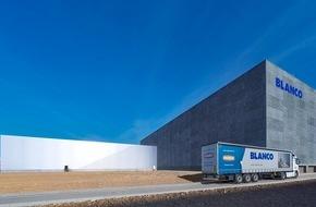 Blanco GmbH + Co. KG: Erweiterung des BLANCO Logistikzentrums eingeweiht / Blanco geht für die Kunden hoch hinaus
