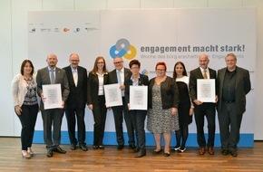 Bundesnetzwerk Bürgerschaftliches Engagement: Ernennung der Engagement-BotschafterInnen 2015 - Gemeinsam für bürgerschaftliches Engagement werben