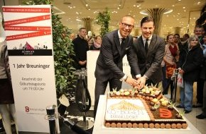 E.Breuninger GmbH & Co.: 365 Tage Breuninger in Düsseldorf