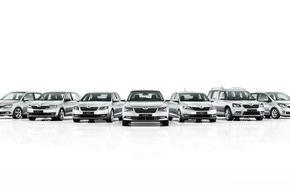 Skoda Auto Deutschland GmbH: Rekordjahr 2015: SKODA liefert 1,06 Millionen Fahrzeuge aus