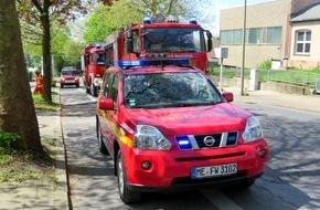 Feuerwehr Heiligenhaus: FW-Heiligenhaus: Zwei Brände und drei Erstversorgungen am Wochenende (Meldung 13/2016