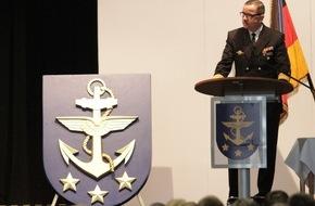 """Presse- und Informationszentrum Marine: Marine der Zukunft: Multinational, Kampfstark, Innovativ """"Wilhelmshavener Erklärung"""" des Inspekteurs der Marine"""