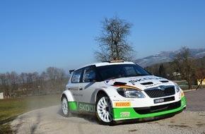 Skoda Auto Deutschland GmbH: SKODA AUTO Deutschland feiert Comeback in der Deutschen Rallye-Meisterschaft (FOTO)