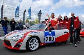Toyota Schweiz AG: Das Toyota Swiss Racing Team gewinnt am 24-Stunden-Rennen auf dem Nürburgring