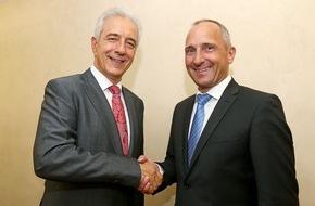 Fürstentum Liechtenstein: ikr: Regierungschef Adrian Hasler empfängt Sachsens Ministerpräsidenten Stanislaw Tillich in Liechtenstein