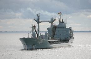 """Presse- und Informationszentrum Marine: Versorgungsschiff """"Spessart"""" wird sich an der Operation """"Atalanta"""" beteiligen"""