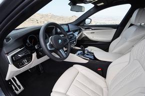 Die neue BMW 5er Limousine
