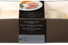 Migros-Genossenschafts-Bund: Rappel d'un produit Migros: date erronée imprimée sur des emballages de filets mignons de porc en croûte