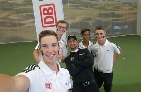 Deutsche Bahn AG: JUGEND TRAINIERT das Handicap: Top-Golfer Moritz Lampert gibt wertvolle Tipps