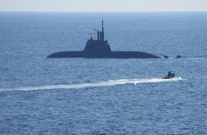 """Presse- und Informationszentrum Marine: """"U33"""" kehrt nach acht Monaten heim"""