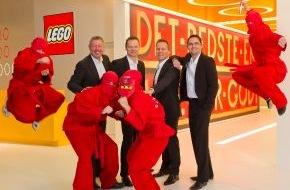 LEGO GmbH: LEGO GmbH steigert Netto-Umsatz um 14,7 Prozent / Das Unternehmen ist Motor eines stark wachsenden Spielwarenmarkts (mit Bild)