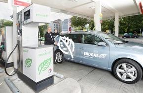 erdgas mobil GmbH: Erdgasfahrzeuge auf Platz eins im ADAC Kundenbarometer / Zufriedenheit mit Kraftstoffverbrauch bei Erdgas-Fahrern am höchsten