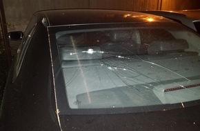 Polizeipräsidium Koblenz: POL-PPKO: Zweimal auf Heckscheibe geschlagen