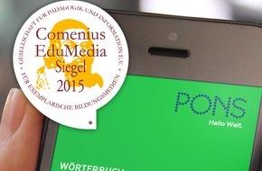 PONS GmbH: Sprachen lernen unterm Sonnenschirm - mit den Bildwörterbuch-Apps von PONS für Spanisch, Französisch, Italienisch und Englisch
