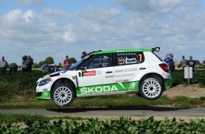 """Skoda Auto Deutschland GmbH: Guter Auftakt für SKODA bei der 50. Auflage der """"Ypres Rally"""""""