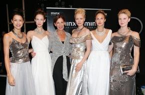 Bijou Brigitte AG: Bijou Brigitte und Minx by Eva Lutz glänzen auf dem Catwalk der Mercedes-Benz Fashion Week Berlin