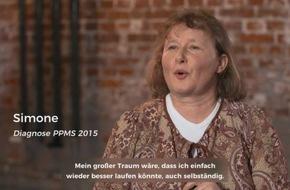 """Roche startet neue Kampagne """"trotz ms TRÄUME WAGEN"""" mit Wayne Carpendale, um MS-Patienten Mut zu machen"""