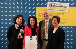 ilapo Internationale Ludwigs-Arzneimittel GmbH & Co. KG: Deutschlands Kundenchampions 2015: Pharmazeutischer Spezialanbieter ilapo gewinnt höchste Auszeichnung für hervorragende Kundenbeziehungen
