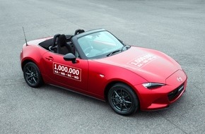 Mazda: Millionster Mazda MX-5 vom Band gelaufen