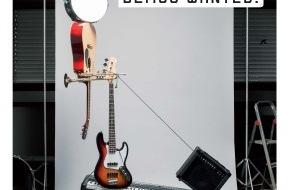 Migros-Genossenschafts-Bund Direktion Kultur und Soziales: Migros-Kulturprozent: Ausschreibung Demotape Clinic 2013 / m4music sucht die besten Demos der Schweiz