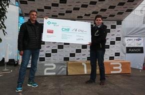 MSD Merck Sharp & Dohme AG: Swiss City Marathon Lucerne 2014: Die von MSD initiierte Spendenaktivität generiert 18'040 Franken für die Stiftung KiFa
