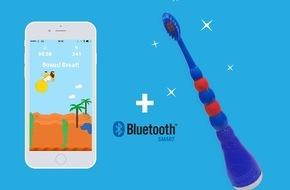 Playbrush: Lehrreicher Tech-Spass für Kinderzähne: Erfolgreiches Kickstarter-Crowdfunding für österreichisches Start-Up