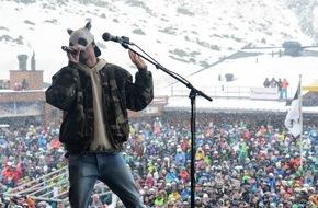 Tourismus Engadin Scuol Samnaun Val Müstair AG: Frühlings-Schneefest und Formations-EM / Rapper CRO und grosse Skilegenden im Samnauner Spätwinter