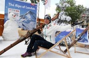 Tirol Werbung: Tirol sorgt für Schneefall bei den olympischen Sommerspielen