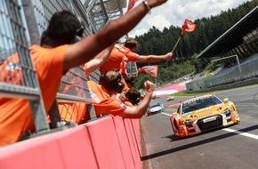 ADAC: Stoll/Vanthoor erobern ersten Saisonsieg für Audi im ADAC GT Masters