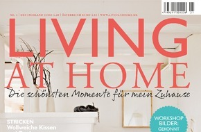 Gruner+Jahr, LIVING AT HOME: Back-Königin Cynthia Barcomi wird Kolumnistin bei LIVING AT HOME