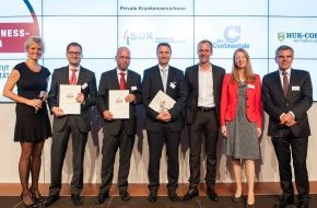 Continentale Krankenversicherung a.G.: Deutscher Fairness-Preis 2014 für Continentale Krankenversicherung a.G.