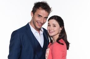 """ARD Das Erste: Das Erste / """"Sturm der Liebe"""": Jeannine Michèle Wacker und Max Alberti stehen im Mittelpunkt der 12. Staffel"""