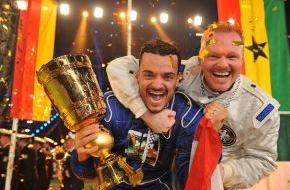 ProSieben Television GmbH: Angstgegner Italien: Deutschland kämpft beim Autoball gegen sein WM-Trauma