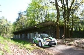 Skoda Auto Deutschland GmbH: SKODA Youngster Fabian Kreim landet nach dramatischem Duell in Sulingen auf Platz zwei