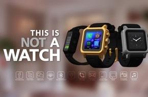Swissgear Sarl: Smartphone in der Hülle einer Smartwatch - Swissness inklusive