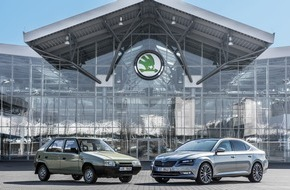 Skoda Auto Deutschland GmbH: Erfolgsgeschichte: SKODA und Volkswagen feiern 25-jähriges Jubiläum