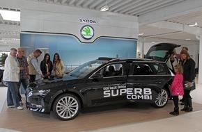 Skoda Auto Deutschland GmbH: Neuer SKODA Superb Combi begeistert beim Marktdebüt in Deutschland