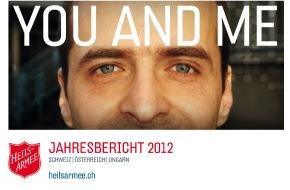 "Heilsarmee / Armée du Salut: Jahresbericht ""You and me"": Die Heilsarmee baut Brücken"