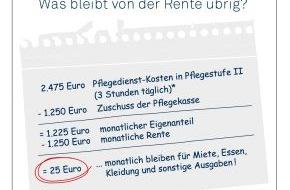 DFV Deutsche Familienversicherung AG: Pflege-Vorsorge: Wie man sparen kann und worauf es ankommt