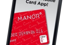 Manor AG: Manor führt als erster Detailhändler in der Schweiz mobiles Bezahlen ein (BILD/VIDEO)