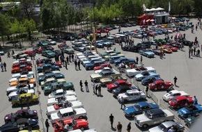AUTO BILD: Auf die Plätze, fertig, los: 180 Oldtimer starten bei der 5. Bodensee-Klassik 2016