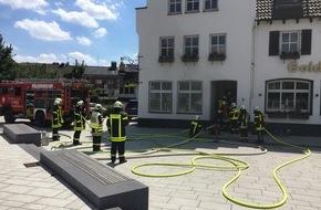 Feuerwehr Dorsten: FW-Dorsten: Zimmerbrand machte Wohnung unbewohnbar-verletzt wurde niemand