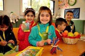 McDonald's Kinderhilfe Stiftung: Aktionen für Kindergesundheit zum Miterleben: Kindergesundheitsmobil stellt neuen Gesundheitspass vor